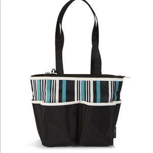 3105accfdb Baby Boom Accessories - Baby Boom Tote Diaper Bag 5pc set, Striped